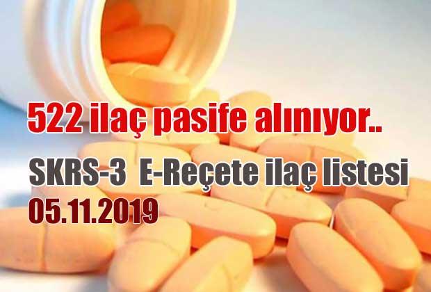 26-11-2019-tarihinde-pasife-alinacak-nbsp-522-ilac-skrs-3-ilac-listesinde