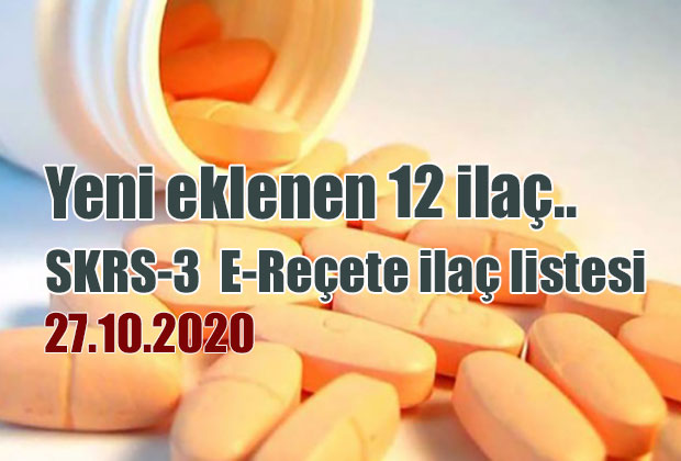 skrs-3-e-recete-ilac-listesi-27-10-2020-tarihli