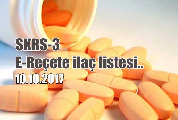skrs-3-e-recete-ilac-listesi-10-10-2017-tarihli