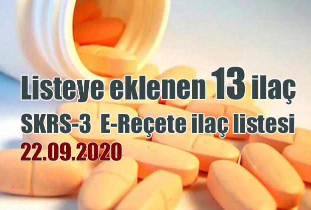 skrs-3-e-recete-ilac-listesi-22-09-2020-tarihli